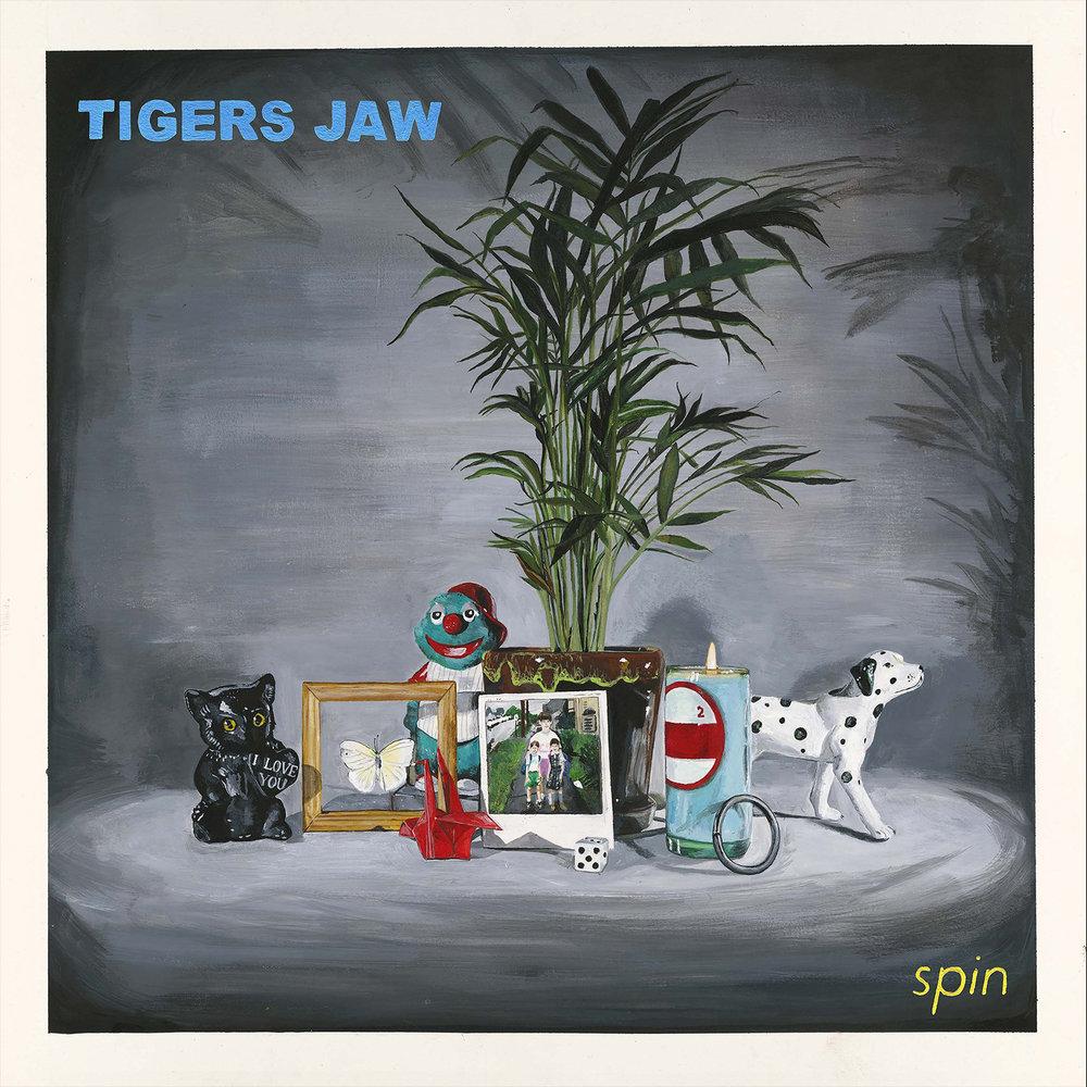 tigers jaw    spin   album art