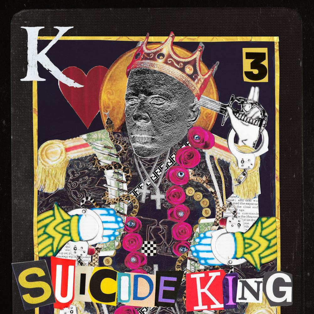 KING 810    SUICIDE KING   Album art