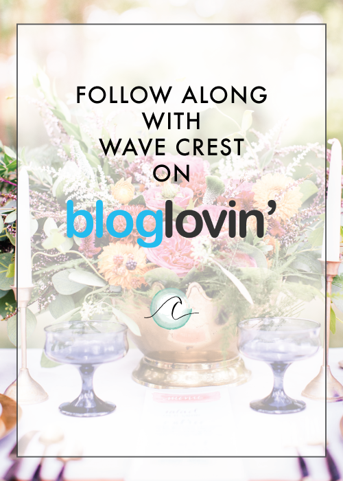 Wave Crest Loves Bloglovin