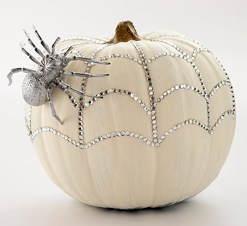 DIY Sunday : spider_pumpkin