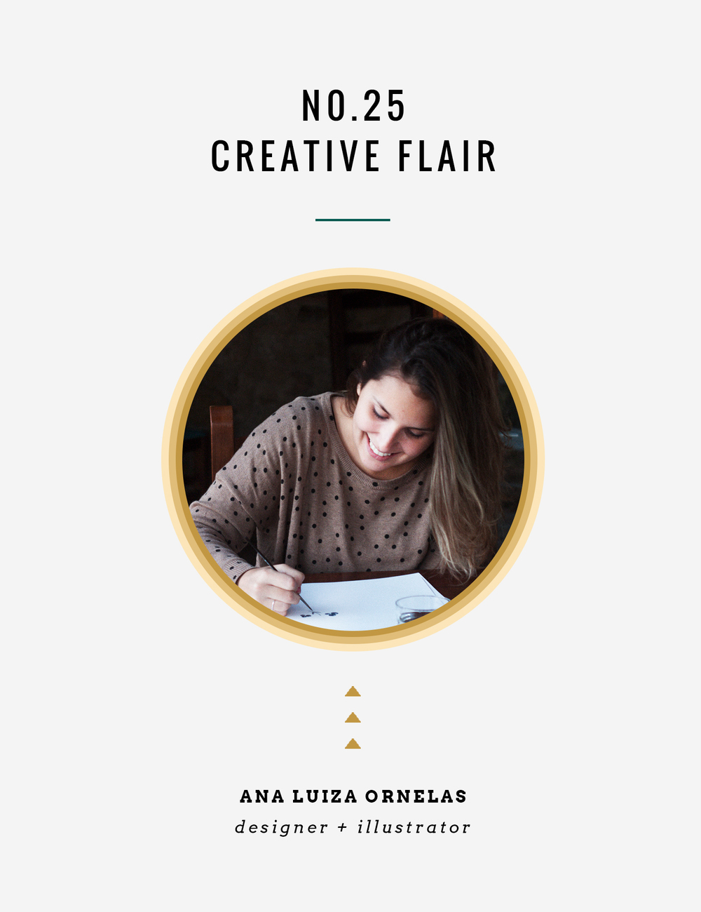 CreativeFlair : Ana Luiza Ornelas | InBetween the Curls