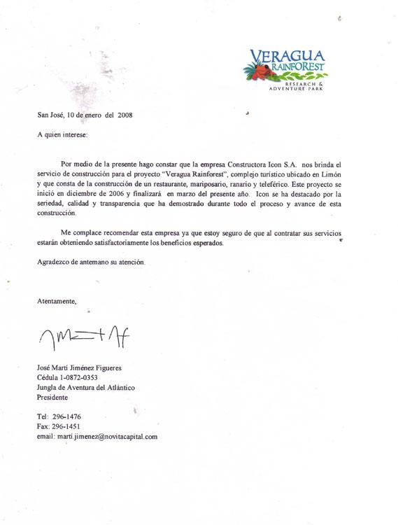 Carta Veragua Rainforest