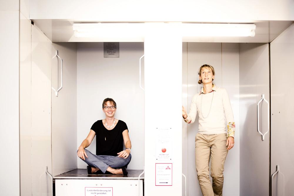 Andrea Rochlitz und Nadja BungardFoto von Caroline Pitzke