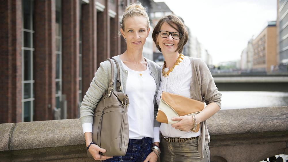 Andrea Noelle und Annika Busse Fotos vonbeliya