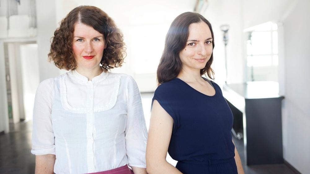 Caroline Pitzke und Christine Fiedler
