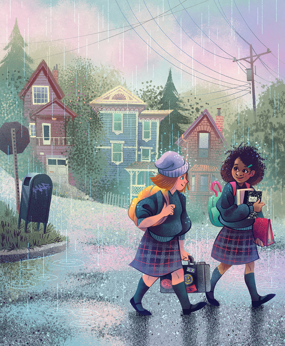 walking to school Valerie Valdivia.jpg