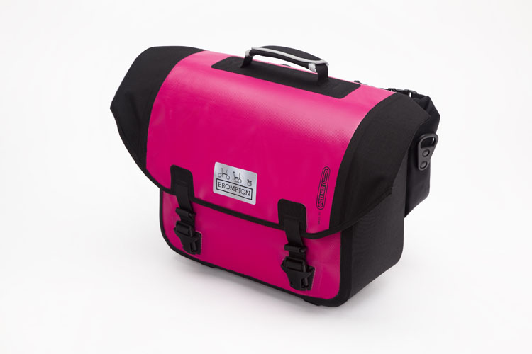 O bag pink  -Water-resistant -Integral padded laptop sleeve -Two removable rear pockets for smalle ritems -Key clip and convenient stationary holders -Shoulder strap  -20 Litres