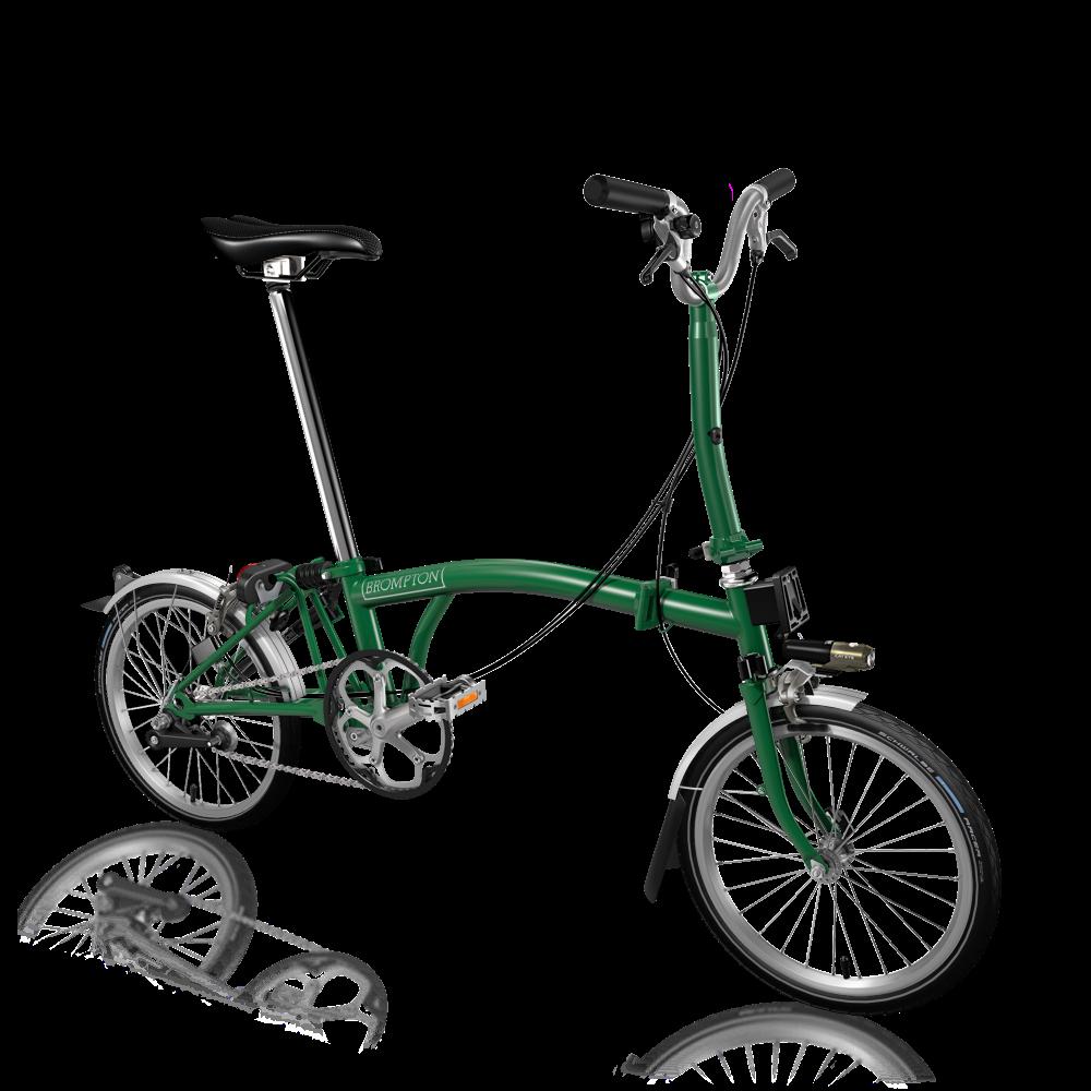 M3L racing green dkk 10.455  Batterilygtesæt Holder til fortasken