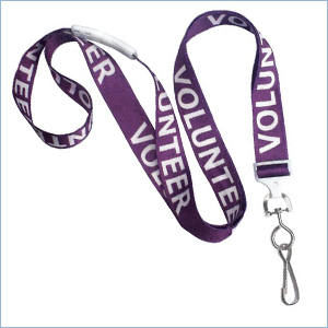 P REPRINTED DYE SUBLIMATED LANYARDS