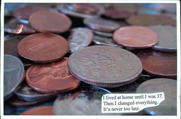 Parents Lived Home Coins PostSecret