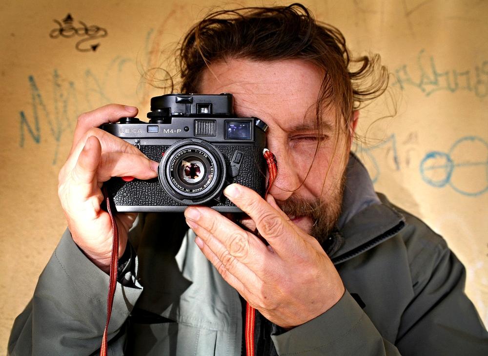Mi Leica con 35mm Summicron-M f/2.0
