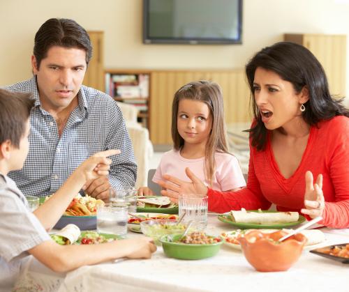 family argue