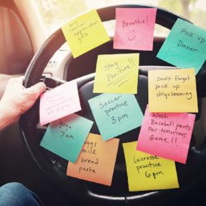 steering wheel reminder