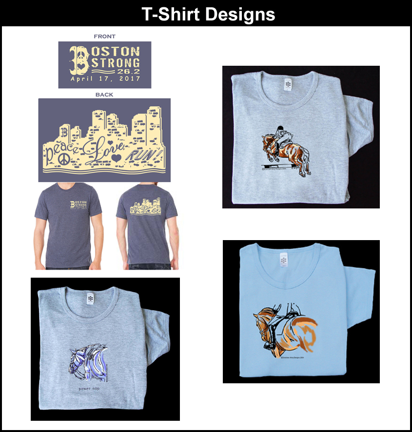 T shirts gretchen almy designs for Websites for designing t shirts