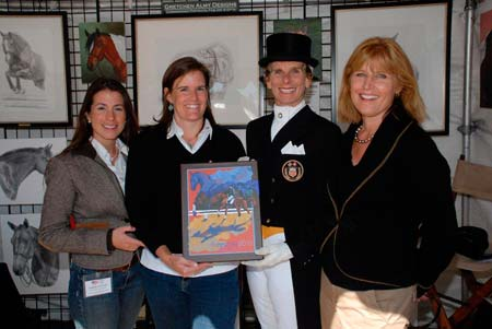 Dottie Morkis Presentation - Here I am presenting Dottie Morkis her original artwork at Bear Spot Freestyle in Concord, MA.