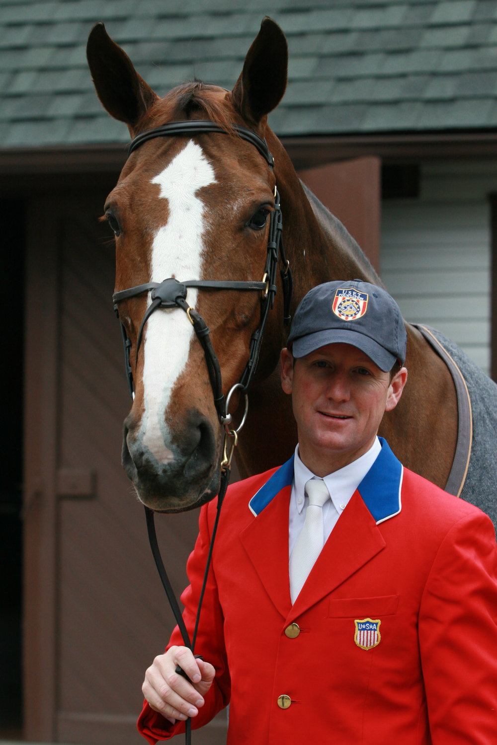 Mclain Ward & Sapphire - When I photographed them at Castle Hill for the book