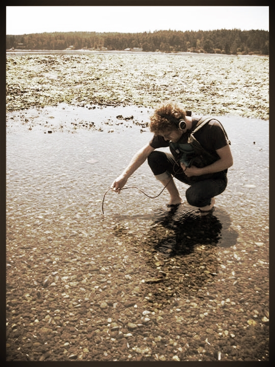 Recording shellfish in the Pacific Northwest