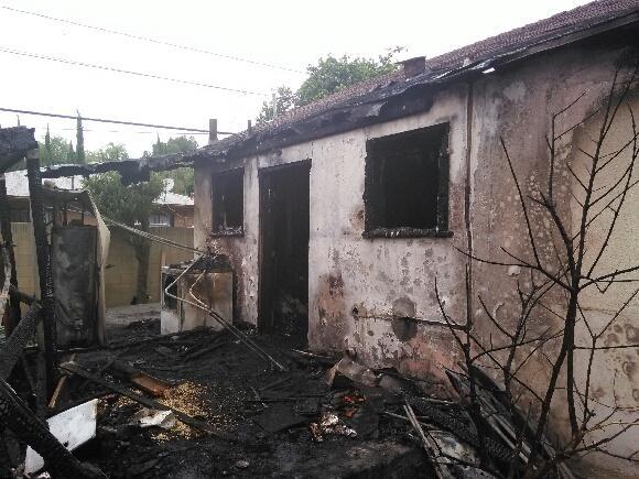 Consuelo & Cesar Ardon's home devastated by fire. GoFundMe.com