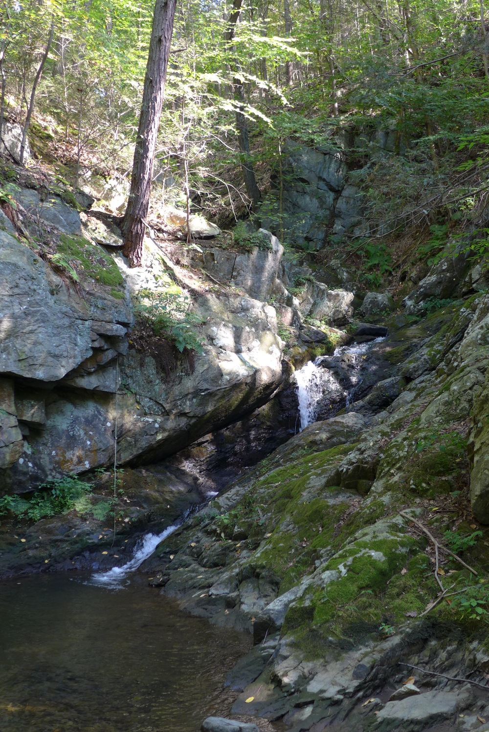 Upper falls at Philipstown park