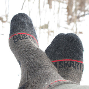atelier mile away pick 2015: Hiking sock by Bush Smarts