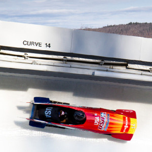 atelier mile away pick 2015: Bobsled ride at the Lake Placid Olympic Complex