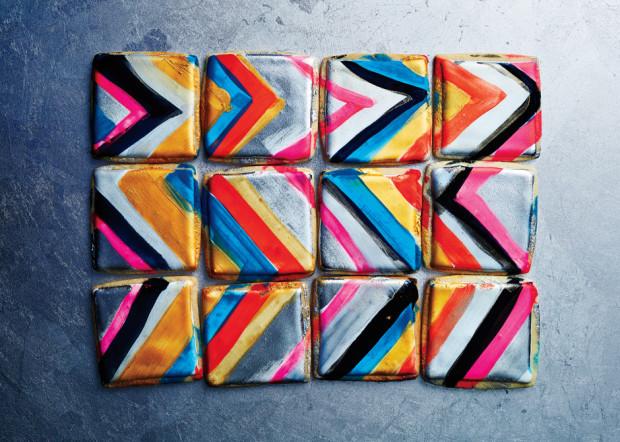 atelier mile away modern art cookies