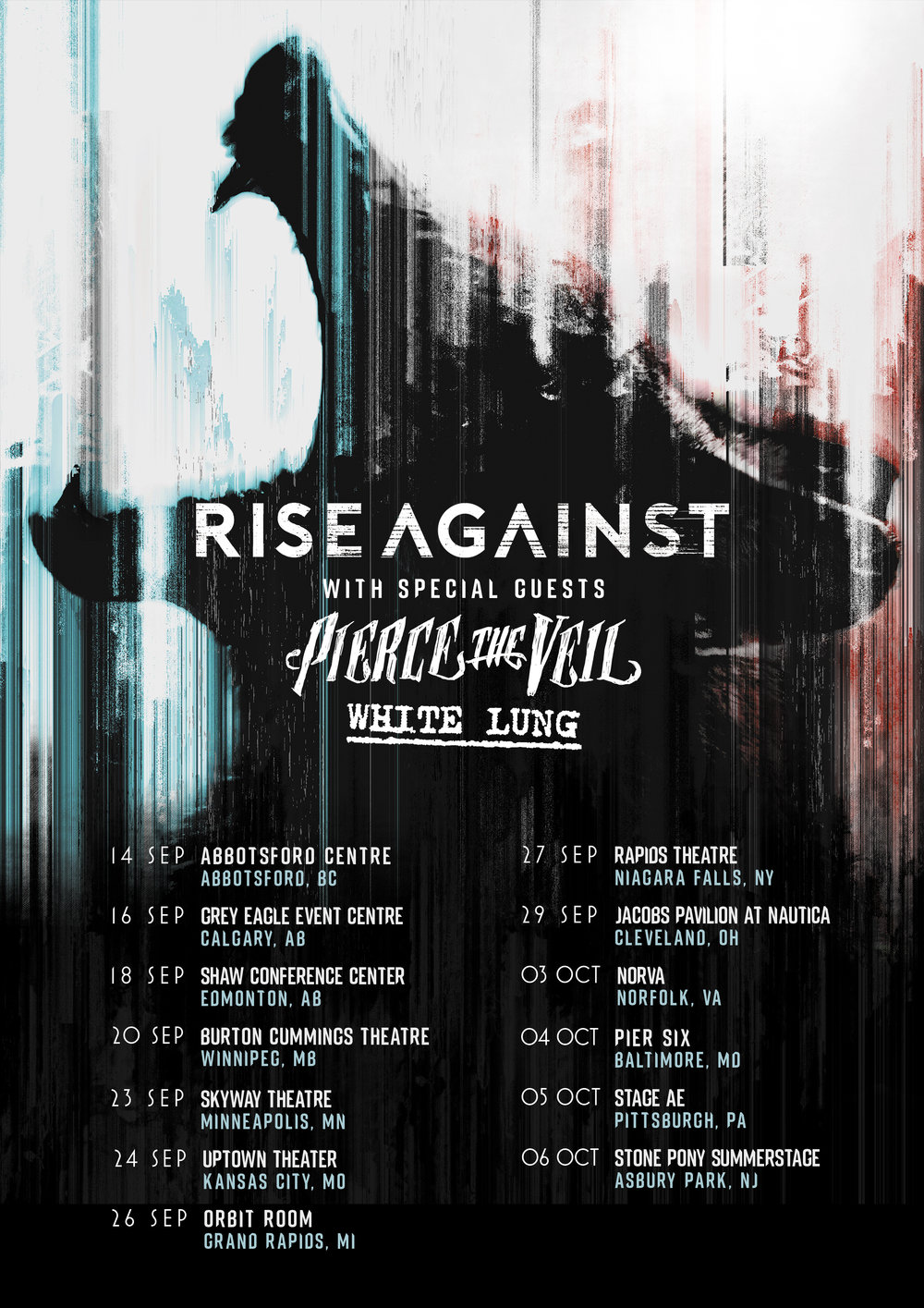Pierce The Veil Announce Fall Tour Dates With Rise Against The