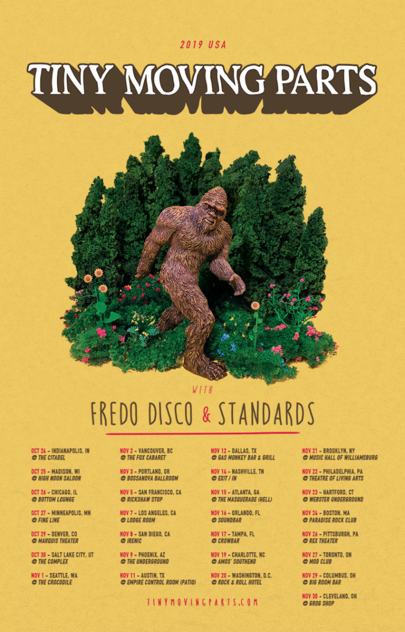 Tiny Moving Parts Announce US Headlining Tour — The Prelude