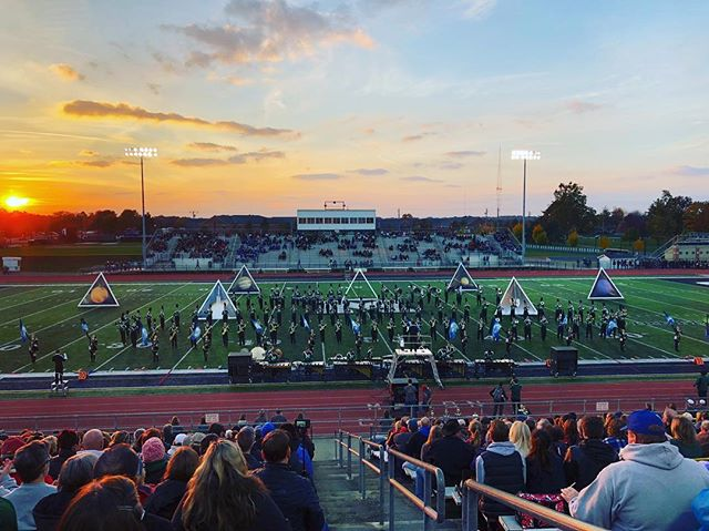 Great show, @nhsmarchingband_! #RMDsquad #Voyager