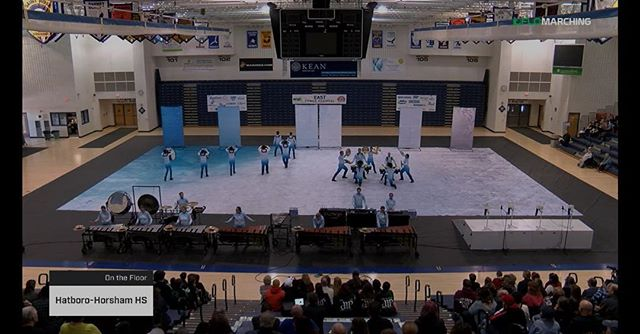 Congrats to Mechanicsburg HS and Hatboro Horsham HS on their awesome prelims performances!! #wgiEAST #rmdsquad