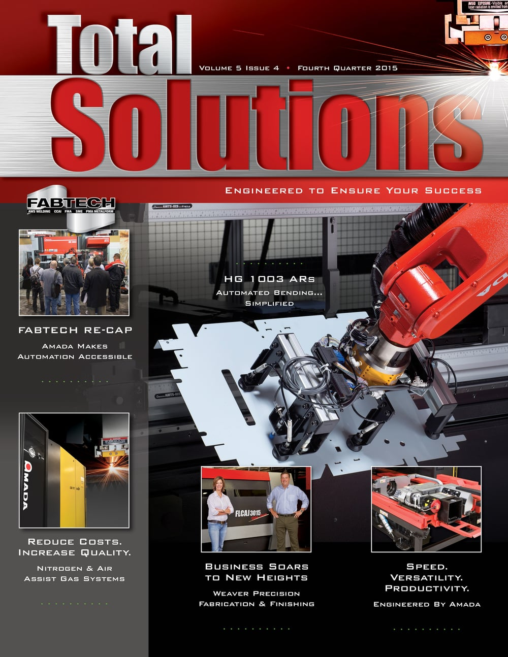 Total Solutions Magazine   Fourth Quarter, 2015
