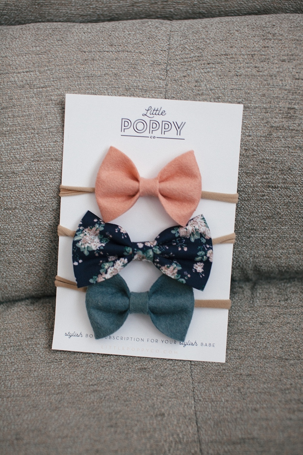 little poppy company bows