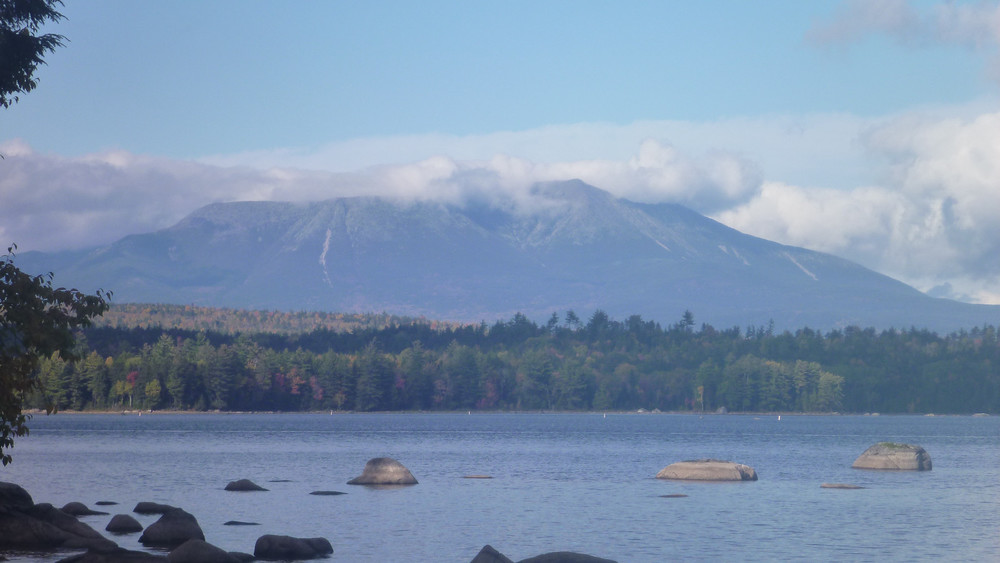 Mt Katahdin as seen from Hundred Mile Wilderness