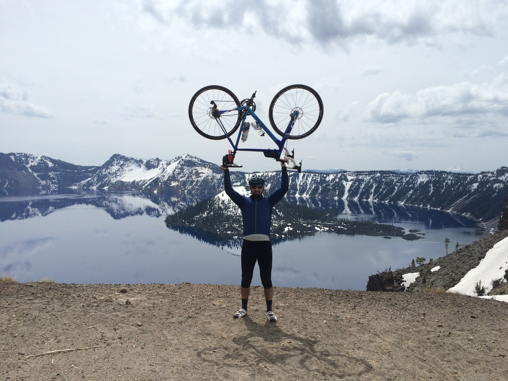 Atop Crater Lake National Park, Rim Drive