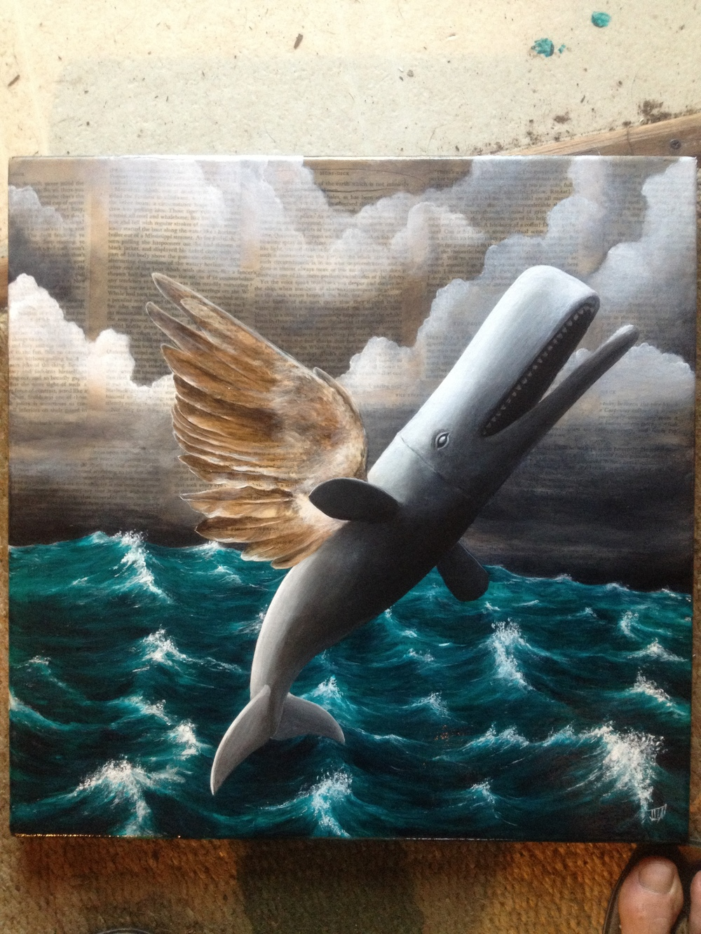 The Winged Whale