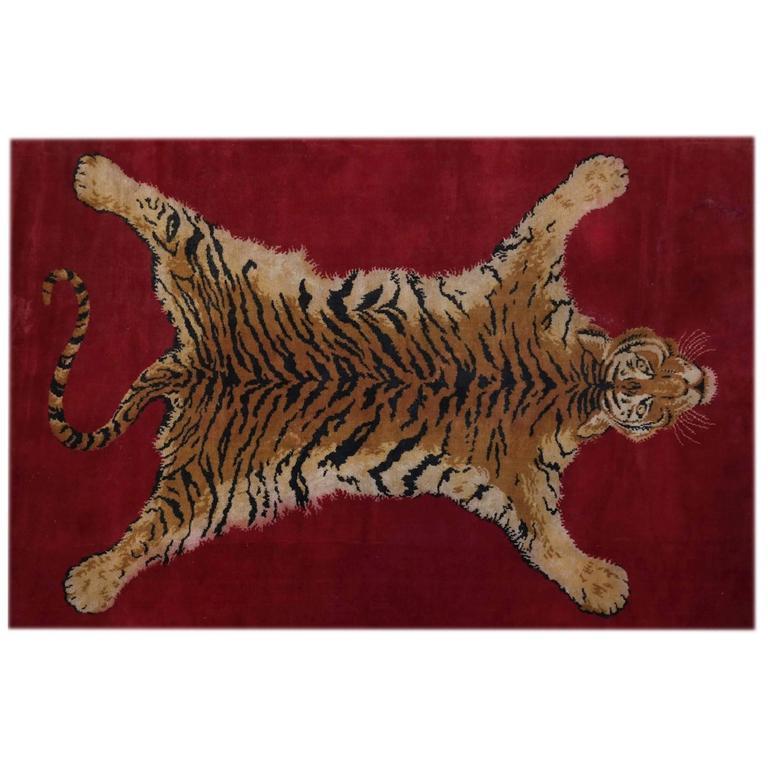 Sprawled Tiger Rug
