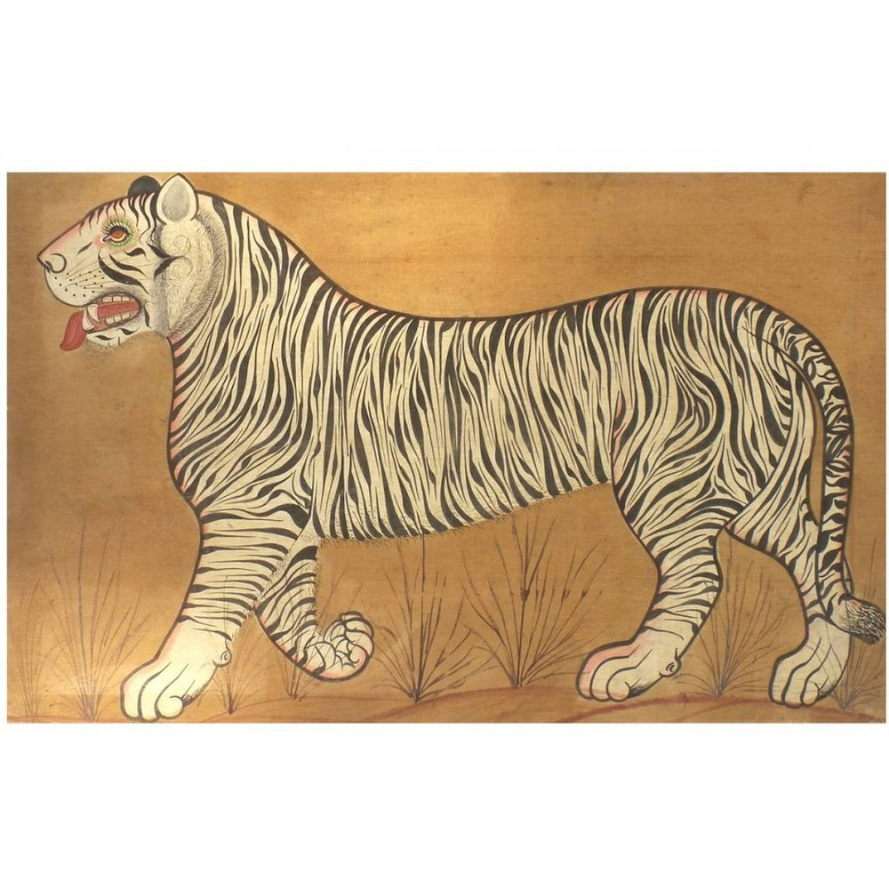 Indian Tiger Painting