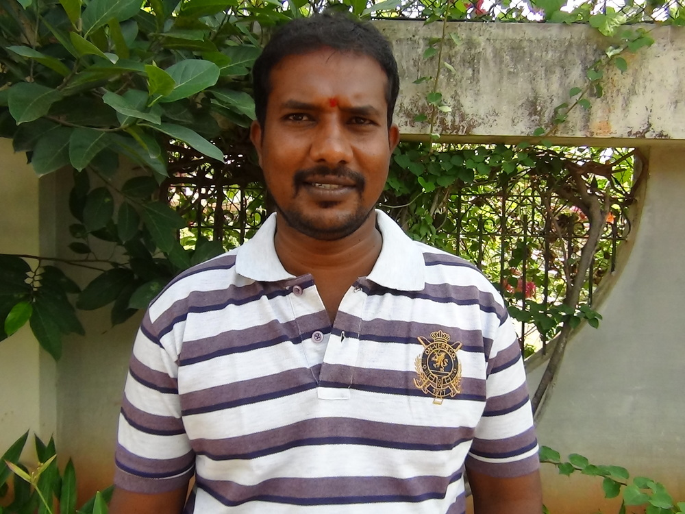 Murali H.T., Driver cum Outreach Worker