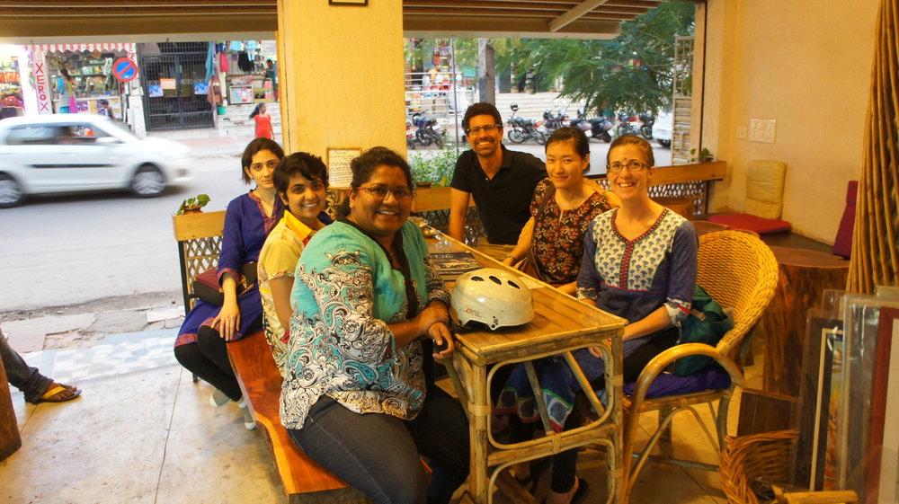 Roshan, Annie, Caithlyn, Prajatha, Hod, Teraje.JPG