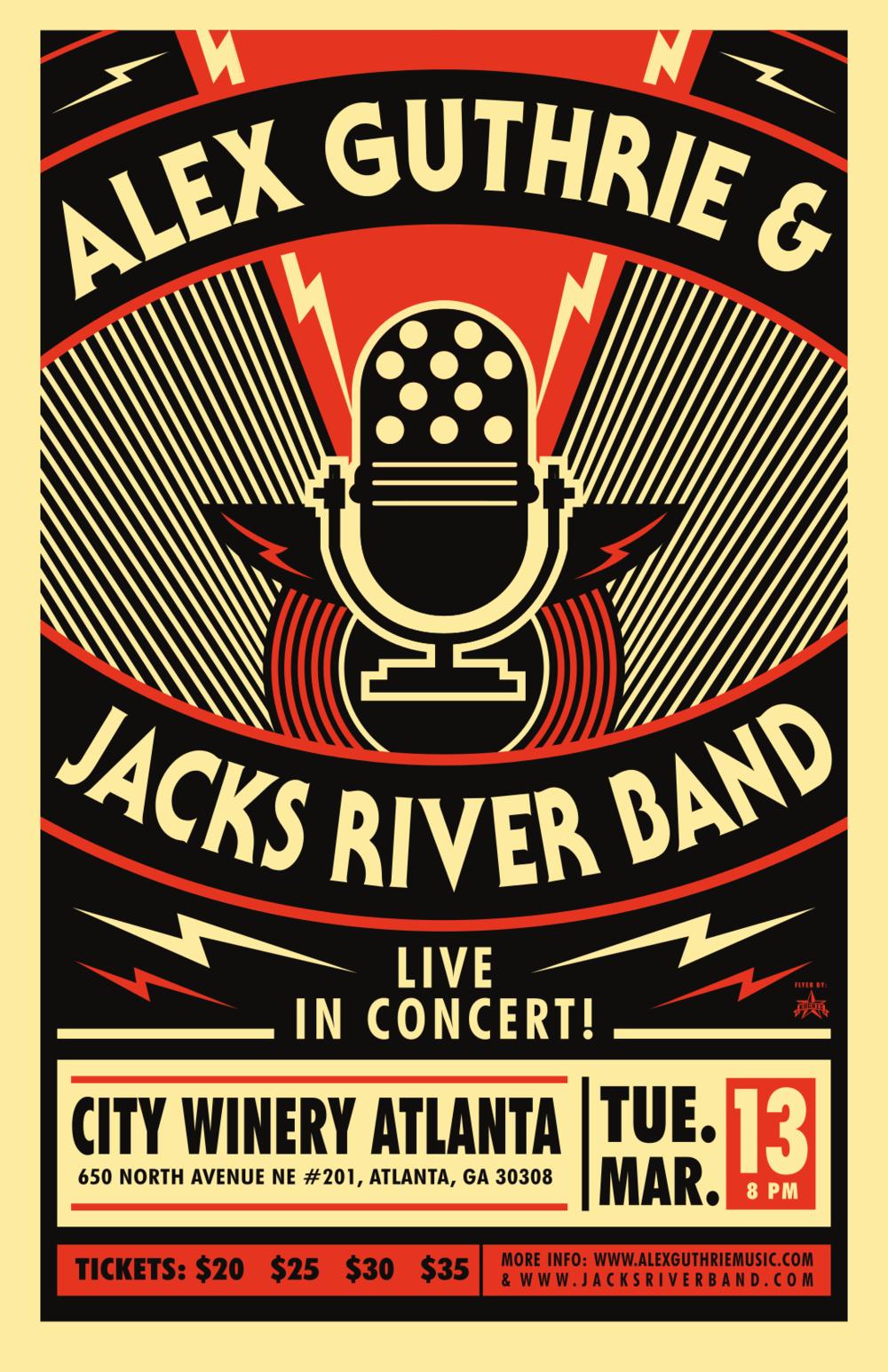 3.13.2018 City Winery, Atlanta, GA - 1. One Eyed Jack2. MNFC ->3. Funkfucious Say ->4. Bullfrog5. Jimmy's Lament6. Frankenstein