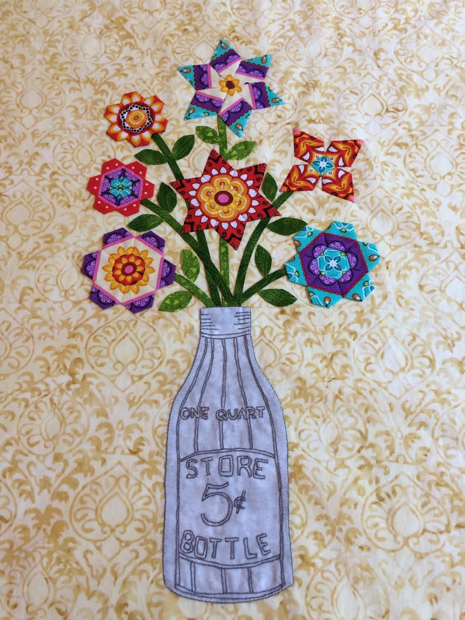 "#8 - LINDA NEAL - ONE DAY CLASS FEB 8 THURSDAY - "" ELEGANT ENGLISH PAPER PIECING"""