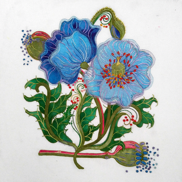 #10 - SHARON SCHAMBER - ONE DAY CLASS FEB 8 THURSDAY -  EXTRAORDINARY EMBROIDERY