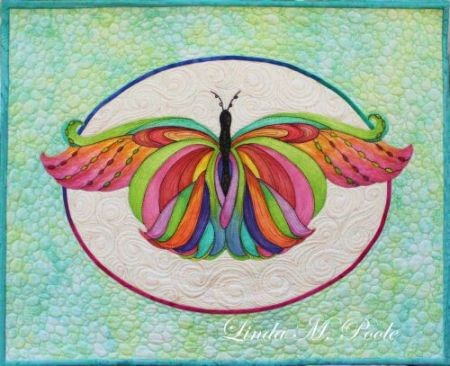 "#11 - LINDA POOLE - ONE DAY CLASS FEB 9 FRIDAY - ""COLOR ME BEAUTIFUL"" PAINTED APPLIQUE"