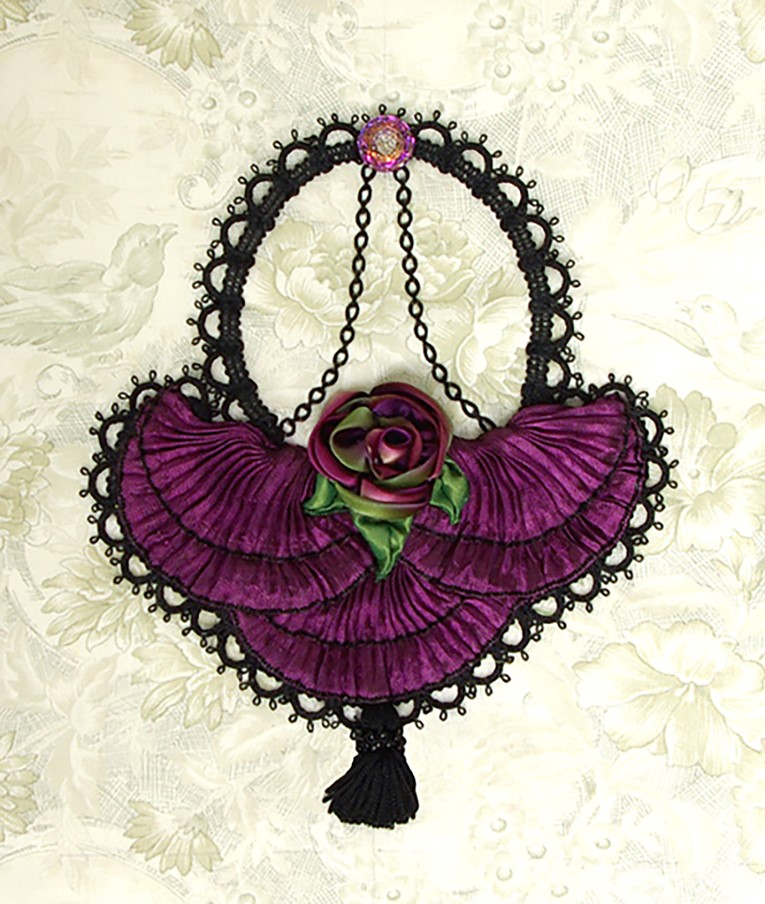 "#12 - CINDY ORAVECZ - ONE DAY CLASS FEB 10 SATURDAY - ""VICTORIAN RETICULE"""