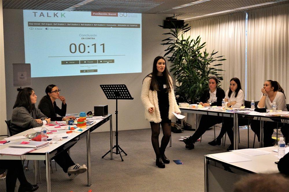 Fase preliminar del TDAK en la sede de la Fundación Barrié de A Coruña.