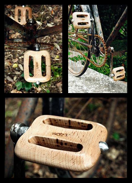 Wotz Wooden Pedals