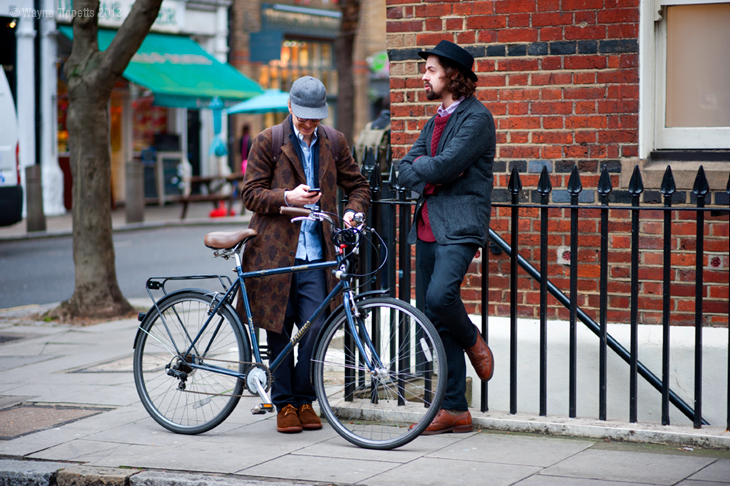 London Collections Men Fall/Winter 2013 Street Style