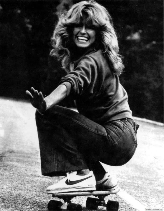 bikepretty, bike pretty, skateboard, skate, farrah, farrah fawcett, farrah fawcett skateboard, seventies, 70s, 1970s, farrah fawcett birthday, farrah fawcett skate, skateboarding, world of skateboarding, magazine