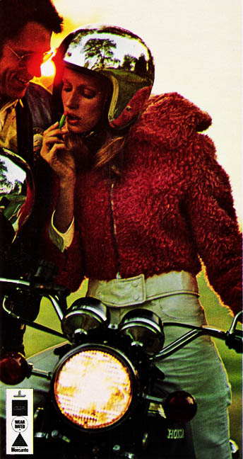 bikepretty, bike pretty, cycle style, cycle chic, bike model, girl on bike, bike fashion, cute helmet, helmet, shiny helmet, silver helmet, vintage magazine, vintage add