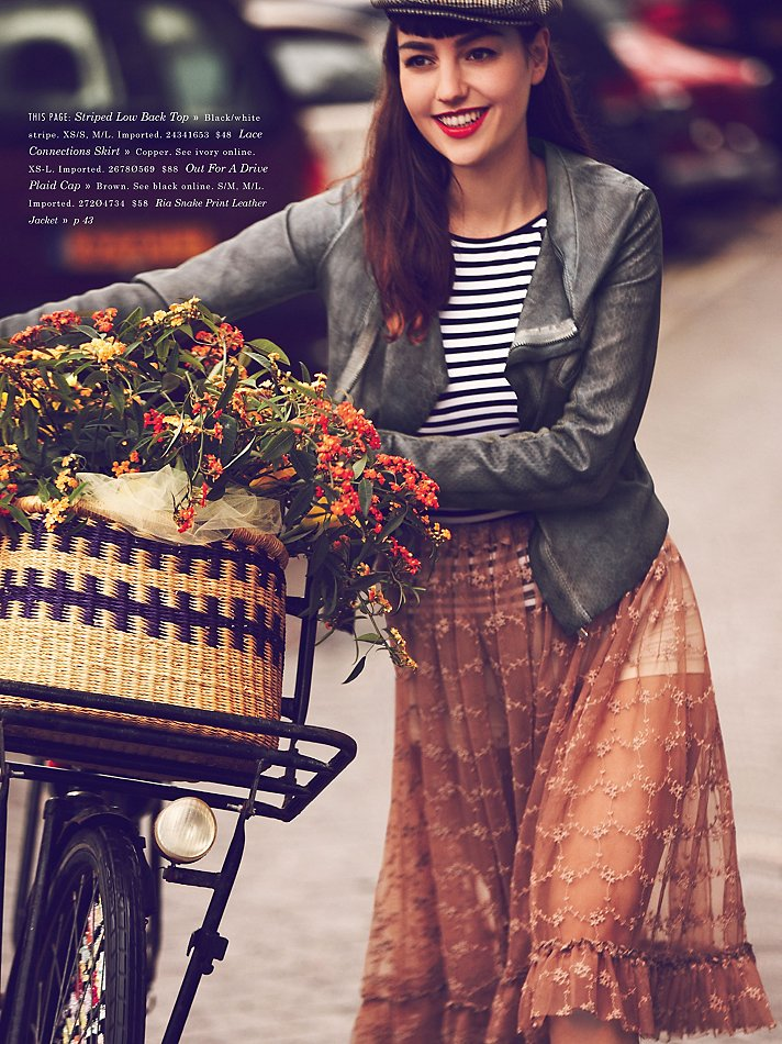 Free People girls on bikes